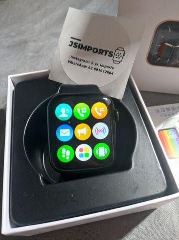 Relógio inteligente W26 + Pulseira de brinde Faz/recebe chamadas - Foto 5