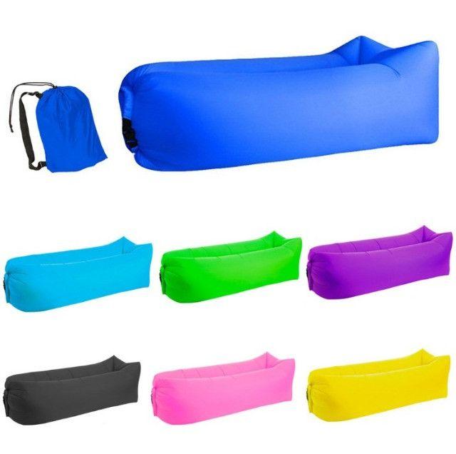 Inflável para camping praia área aberta para sentar ou deitar