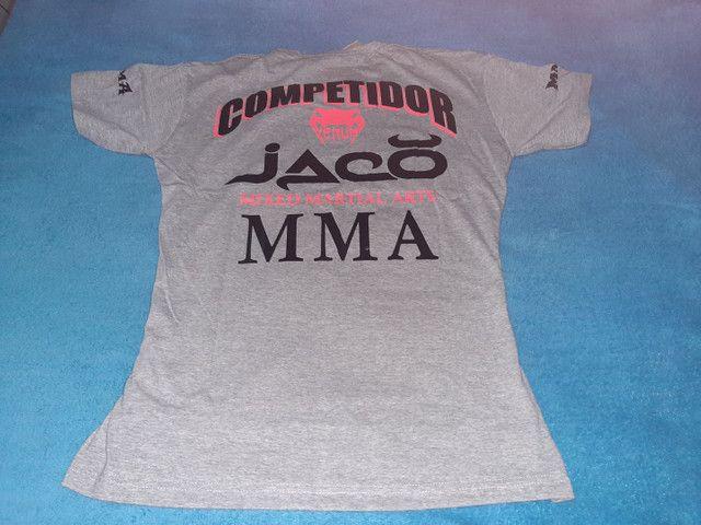 Camisas Originais MMA_ JIU JITSU_ MUAYTHAI_UFC _ PRETORIAN_ VENUM_ JUSTICEIRO_ BLACK SKULL - Foto 3
