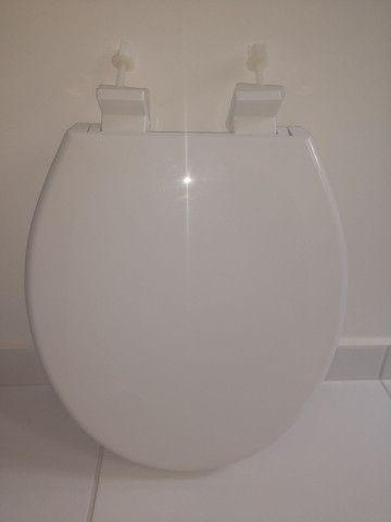 Assento sanitário oval ASTRA - Fechamento suave - Foto 2