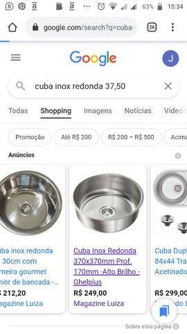 CUBA INOX 37,50cm - Foto 2