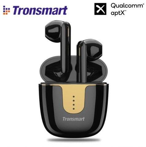 Fone de ouvido sem fio Tronsmart Onyx ACE Quad-Microphone para redução de ruídos