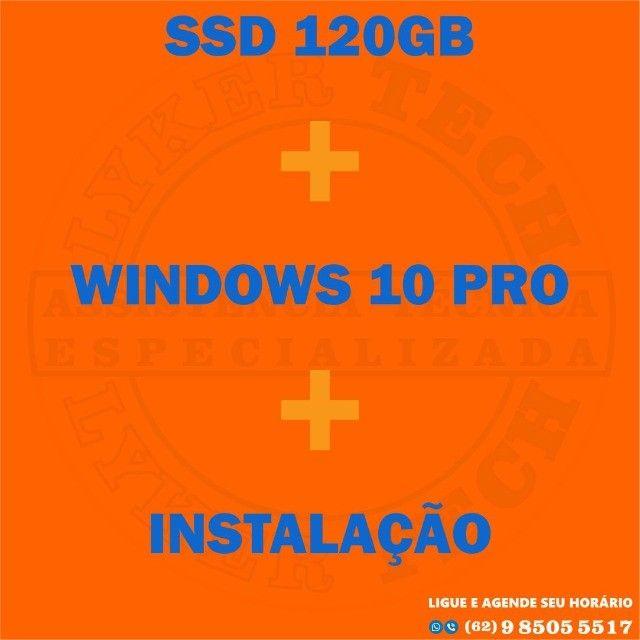 SSD+windows 10+ instalação