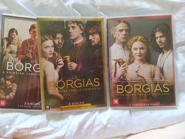 Dvd Os Bórgias  - Foto 2