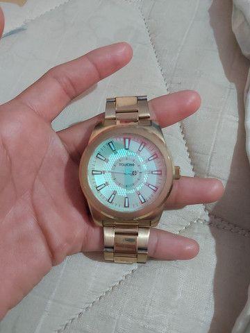 Relógio touch novo