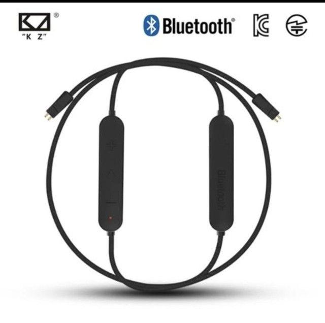 Adaptador bluetooth para fone de ouvido KZ conector tipo C