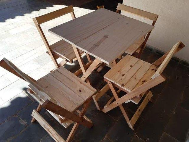 Mesas e cadeiras dobráveis  - Foto 3