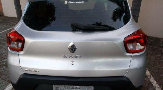 Renault Kwid Zen Prata - Foto 3