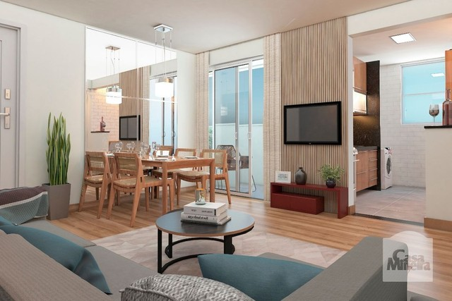 Apartamento à venda com 2 dormitórios em Alto caiçaras, Belo horizonte cod:317092 - Foto 2