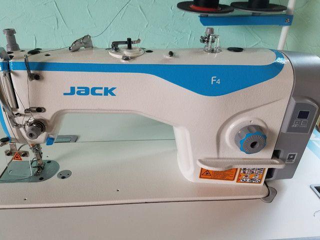 Maquina reta industrial eletronica Jack F4