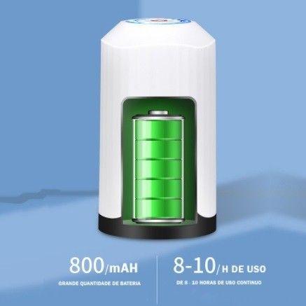 Bomba Elétrica De Galão Universal Com Carregamento USB Para Galão/Garrafão De Água - Foto 6
