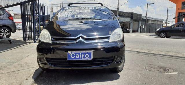 Xsara Picasso 2010 exclusive 1.6 flex completa couro ar condicionado - Foto 9