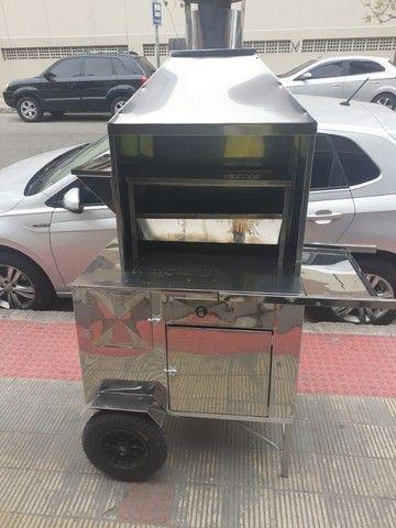 Carrinho de churrasco novo zero km barato - Foto 3