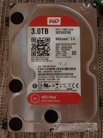 Disco Rígido Interno Western Digital Wd Red Wd30efrx 3tb - Foto 2