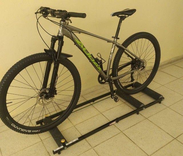 Bicicleta MTB Audax Aro 29 1x9 V, aceito speed como parte do pagamento.  - Foto 2