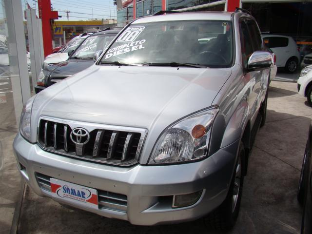 TOYOTA LAND CRUISER PRADO 2007/2008 3.0 4X4 TURBO INTERCOOLER DIESEL 4P  AUTOMÁTICO