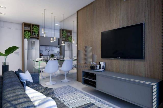 Apartamento com 1 dormitório à venda, 40 m² por R$ 240.000 - Jatiúca - Maceió/AL - Foto 8