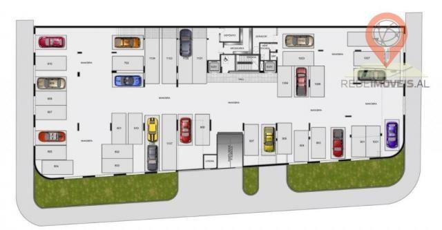 Apartamento com 1 dormitório à venda, 40 m² por R$ 240.000 - Jatiúca - Maceió/AL - Foto 18