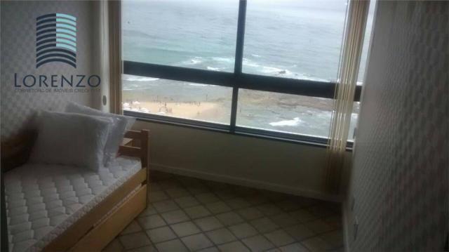 Ondina Apart - Apartamento com 3 dormitórios para alugar, 120 m² por R$ 3.024/mês - Ondina - Foto 8