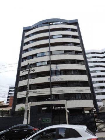 Apartamento com 4 dormitórios à venda, 133 m² por R$ 750.000 - Jatiúca - Maceió/AL - Foto 2