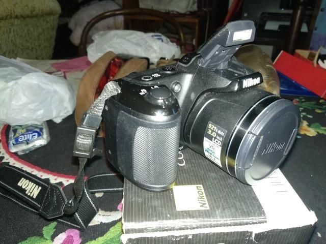 Vendo ou troco Nikon semi profissional - Foto 3