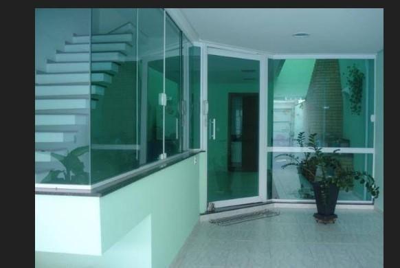 Sobrado à venda, 231 m² por r$ 900.000,00 - jardim - santo andré/sp