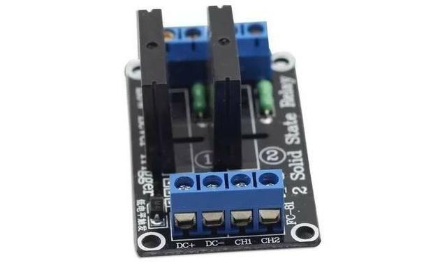 COD-AM26 Módulo Rele De Estado Sólido 2 Canais 5v Ssr Arduino - Automação - Robotica - Foto 2
