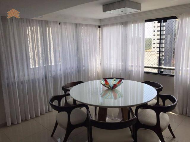 Apartamento com 3 dormitórios à venda, 235 m² por R$ 670.000 - Tirol - Natal/RN - Foto 14