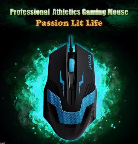 Mouse gamer Usb 1600dpi - Novo - Foto 2
