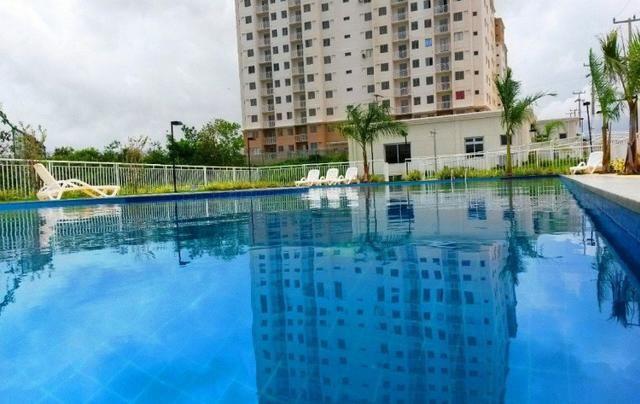 Apartamento com móveis projetados - Cond. Clube Costa Araçagi - Foto 18
