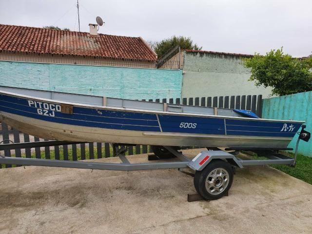 Barco Petty 500s com Carretinha - Foto 11