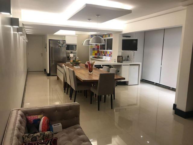 Apartamento com 3 dormitórios à venda, 122 m² por r$ 850.000 - bairro jardim - santo andré
