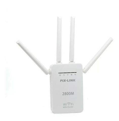 Repetidor 4 antenas Wi-Fi Mini Roteador Wireless 2800m - Foto 2
