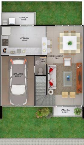 Lançamento Casa de 3 suites em Ipitanga R$ 379.000,00 - Foto 5