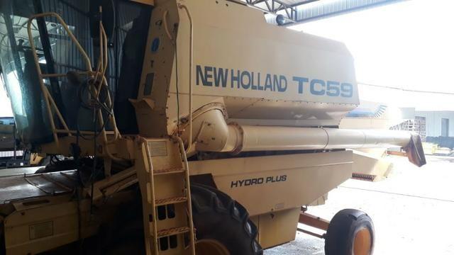 Colheitadeira de Grãos New Holland TC59 - Foto 3