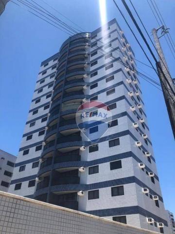 Apartamento com 3 dormitórios à venda, 97 m² por R$ 400.000,00 - Tirol - Natal/RN - Foto 2