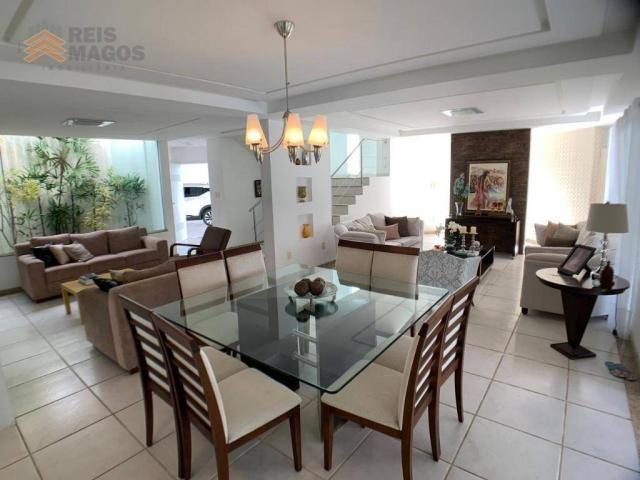 Casa com 3 dormitórios para alugar, 450 m² por R$ 8.000/mês - Candelária - Natal/RN - Foto 6