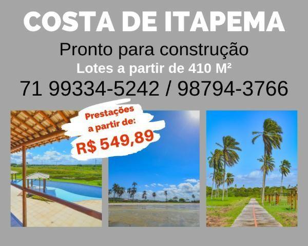 Loteamento, praia exclusiva, Costa de Itapema, com Infraestrutura *4