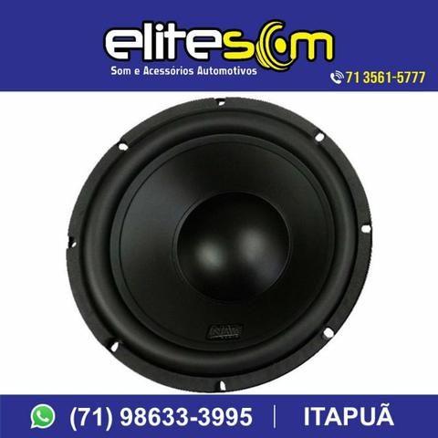 Subwoofer Nar Áudio, 200 Wrms, 10pol. instalado na Elite Som