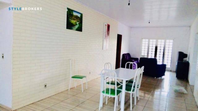 Chácara na Beira de Rio com 4 dormitórios à venda, 3600 m² por R$ 260.000 - Zona Rural - S - Foto 12