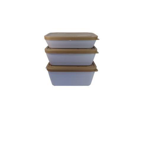 Potes de primeira qualidade para microondas e freezer - livres de bisfenol-A - Foto 2