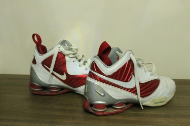 163015ad968 Tenis de basquete Nike Shop vermelho n36 37 - Roupas e calçados ...