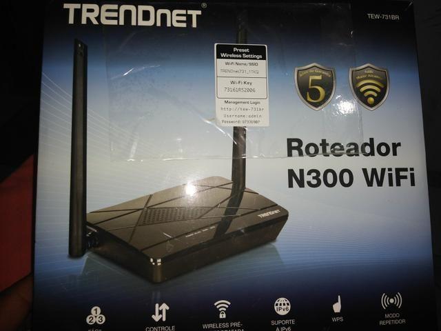 Roteador Trendnet