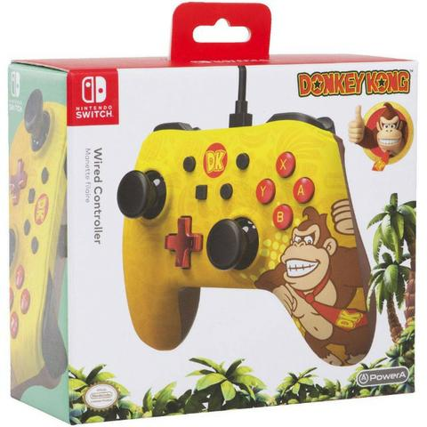 Controle powera wired donkey kong - nintendo switch - Foto 2