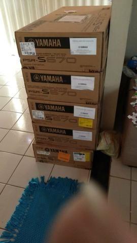 Teclado Yamaha S670 Novo 12x de 320 - Foto 2