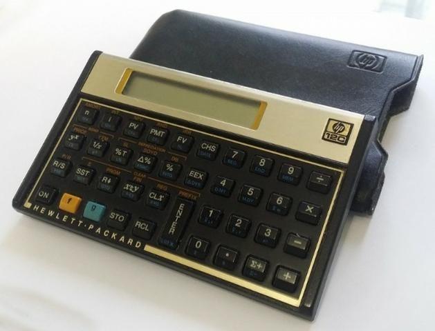 0d7d5a7d2 Calculadora Financeira Hp12c Hp 12c Gold Lacrada Original ...