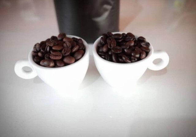 Café torrado em grãos 500g