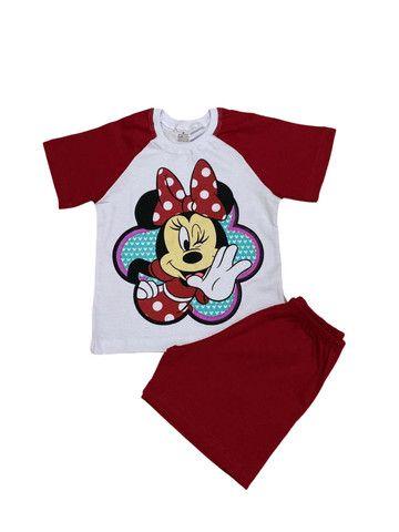 Pijama Infantil Minnie - Calor