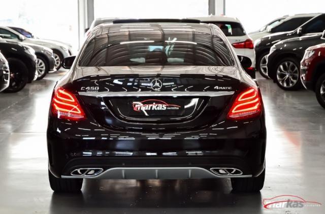 Mercedes C 450 C450AMG4M 367HP TETO 36 MIL KM 4P - Foto 5