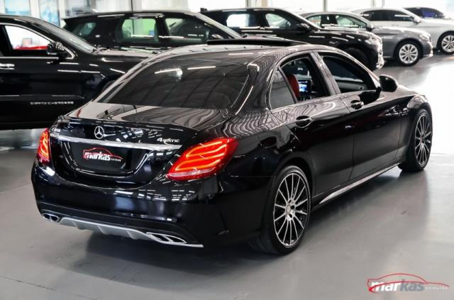 Mercedes C 450 C450AMG4M 367HP TETO 36 MIL KM 4P - Foto 6